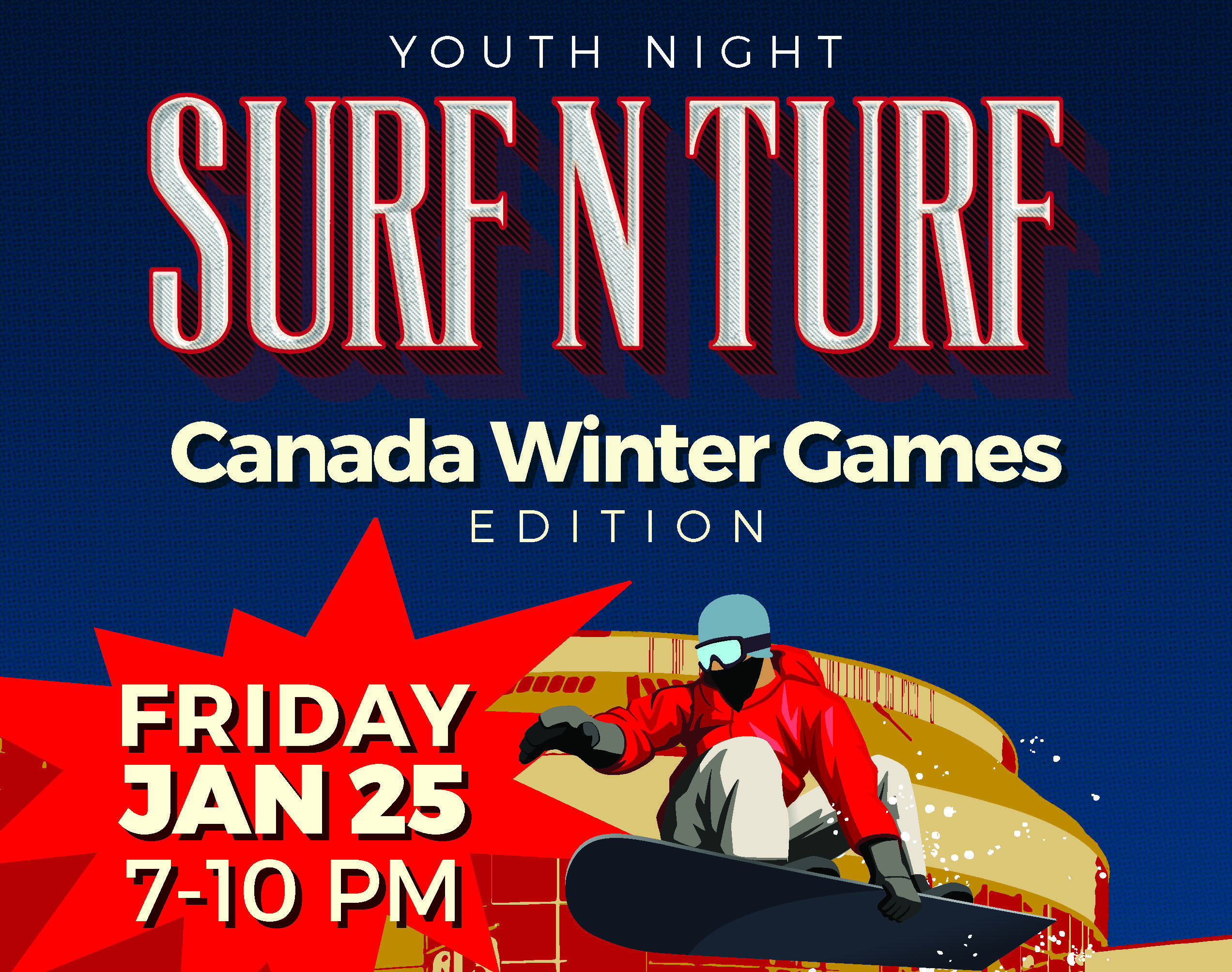 Surf 'n Turf - Canada Winter Games Edition