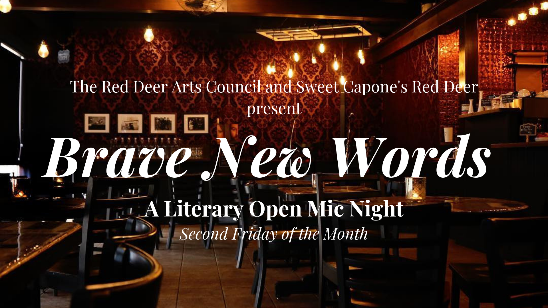 Brave New Words - A Literary Open Mic