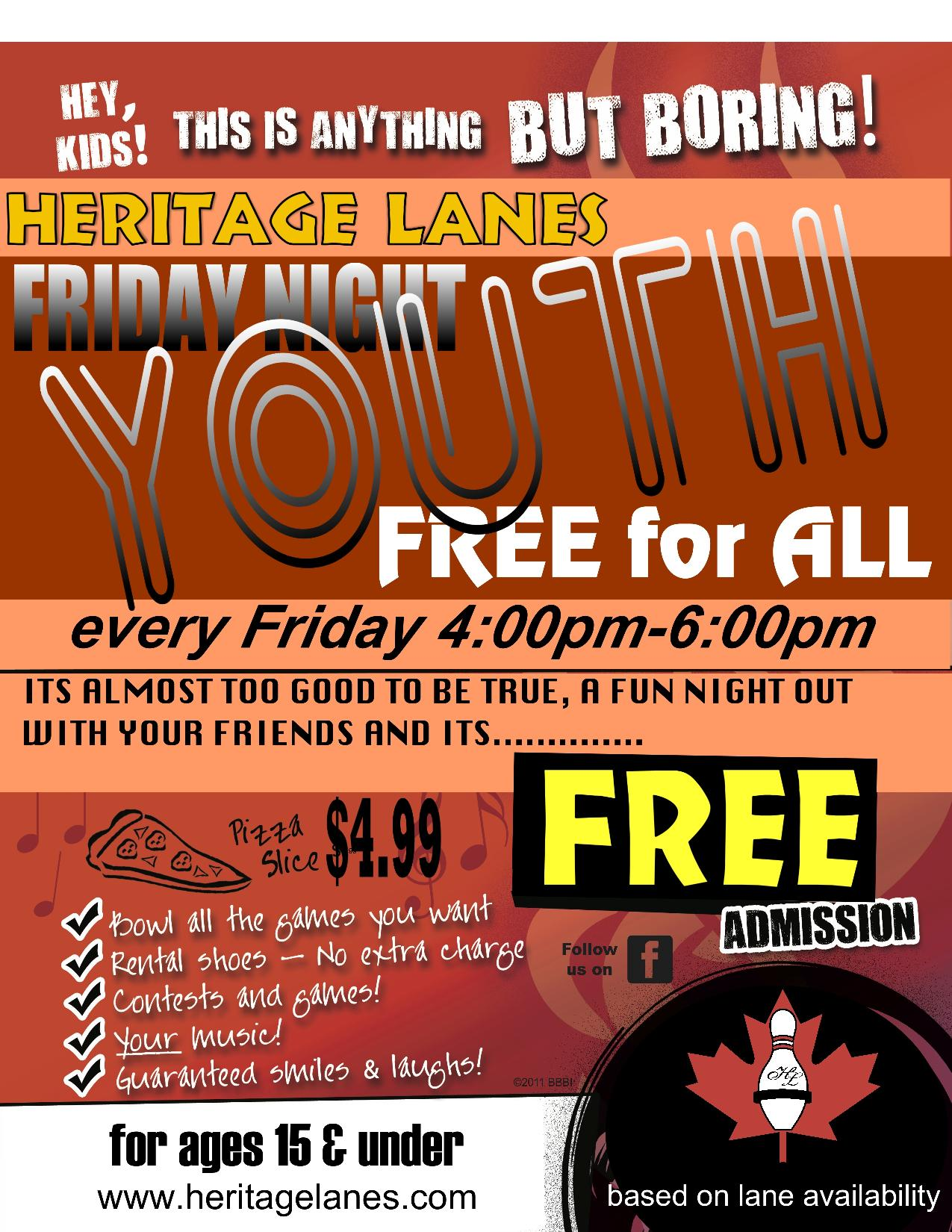 Friday Night Youth Free For All