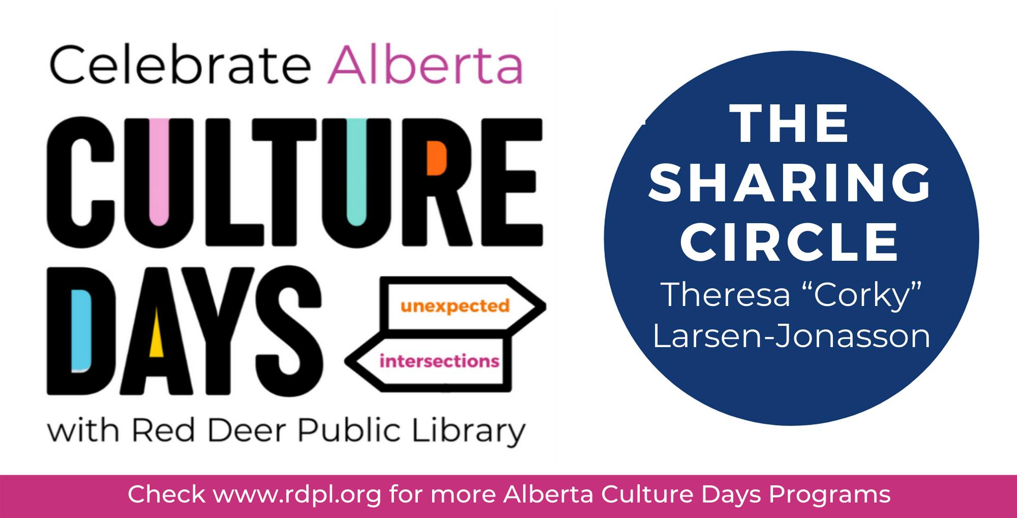 'The Sharing Circle' Children's Local Author Presentation- Alberta Culture Days